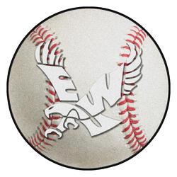 """Fanmats NCAA Baseball Mat 27"""" Diameter"""