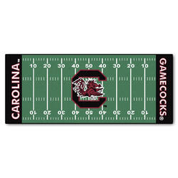 "Fanmats NCAA Football Field Runner Mat 30"" x 72"""