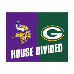 "Fanmats NFL House Divided Mat  34"" x 45"""