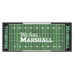 """Fanmats NCAA Football Field Runner Mat 30"""" x 72"""""""