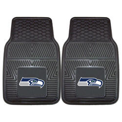 Fanmats NFL Heavy Duty Vinyl Car Mat Set