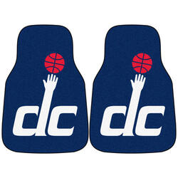 Fanmats NBA Printed Carpet Car Mat Set
