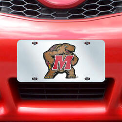 Fanmats NCAA License Plate-Inlaid