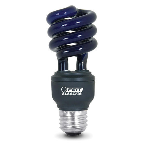 13 watt cfl blacklight twist light bulb. Black Bedroom Furniture Sets. Home Design Ideas