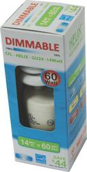 14 Watt Dimmable 5,000 K Spiral Bulb with GU24 Two-Pin Base