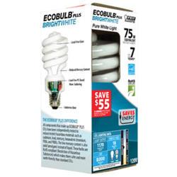 18 Watt Bright White CFL Mini Twist Light Bulb