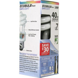 9 Watt CFL Daylight Mini Twist Light Bulb