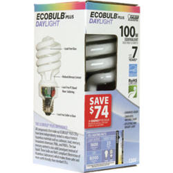 23 Watt CFL Daylight Mini Twist Light Bulb