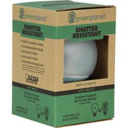 11 Watt CFL Globe Shatter-Resistant Light Bulb