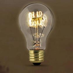 60 Watt Vintage Style Original A-Shape Light Bulb
