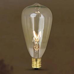 7 Watt Vintage Style T12 Light Bulb (2-Pack)