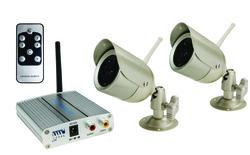 First Alert Indoor/Outdoor Wireless Analog 2-Camera System