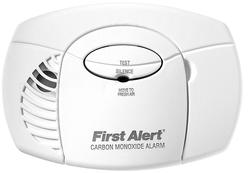 First Alert Basic Battery-Operated Carbon Monoxide Alarm