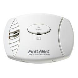 First Alert 120V AC Plug-In Carbon Monoxide Alarm with Battery Backup