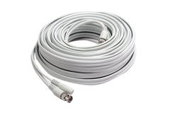 First Alert 50' BNC Cable Double Shielded with Adapters