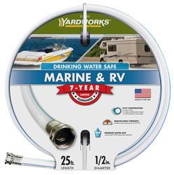 """Yardworks® 1/2"""" x 25' RV Marine Hose"""