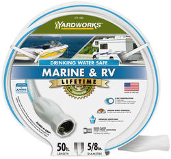 "Yardworks® 5/8"" x 50' Marine and RV Hose"