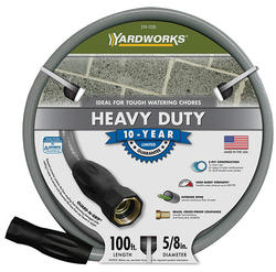 "Yardworks® 5/8"" x 100' Heavy-Duty Hose Garden Hose"