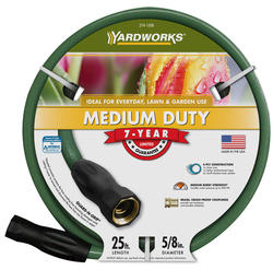 "Yardworks® 5/8"" x 25' Medium-Duty Garden Hose"