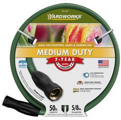 """Yardworks® 5/8"""" x 50' Medium-Duty Garden Hose"""