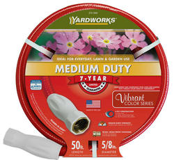 "Yardworks® 5/8"" x 50' Medium-Duty Garden Hose"