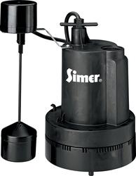 Submersible Sump Pump 1/3 HP Vertical Float Switch