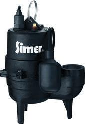 1/2 HP Cast Iron Sewage Pump