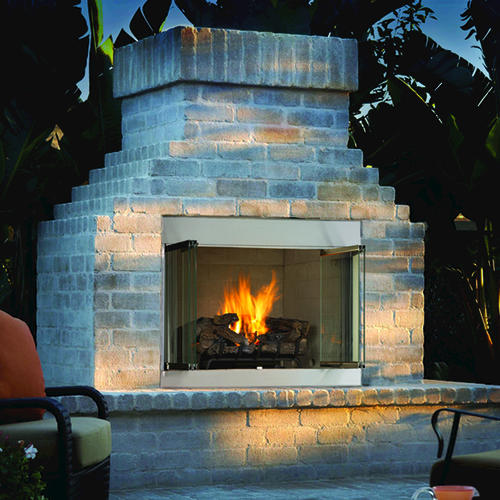 Ihp 42 Vent Free Outdoor Fireplace Ng Insert Only At Menards
