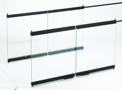 "IHP 36"" Multi-View Glass Doors for B-Vent See-Thru Fireplaces"