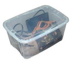 Bella NX 54 Quart Clear Storage Container