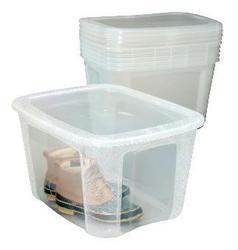 Bella 120 Quart Clear Storage Container