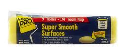 """FoamPRO® 9"""" x 1/4"""" Super Smooth Foam Roller"""