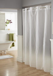 Frosty Peva Shower Curtain
