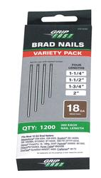 Grip Fast 18-Gauge Brad Nail Assortment