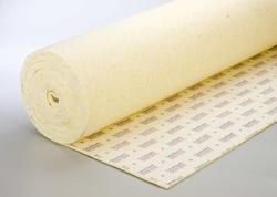 "Future Foam 7/16"" Future Guard 8 lb. Density Memory Foam Rebond Carpet Pad w/Premium Moisture Barrier Protection"