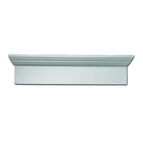 Fypon 71 1 2 x 9 polyurethane window and door crosshead Fypon molding