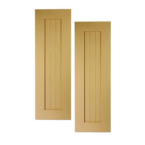 Fypon 15 X 46 Polyurethane Timber 3 Board Bordered