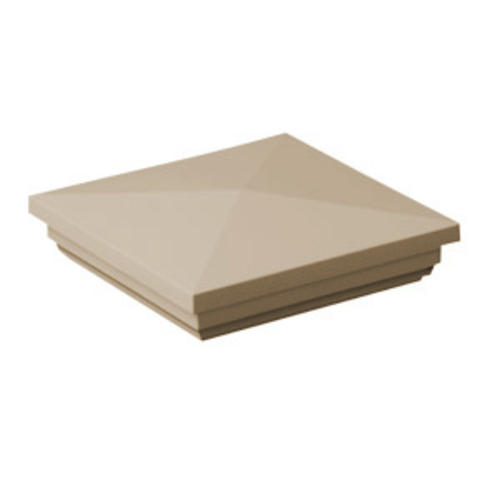 Quickrail 4 tan new england post cap at menards Fypon quick rail
