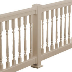 "Fypon QuickRail 36"" x 96"" Tan Colonial Deluxe Rail Kit"