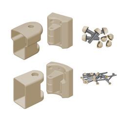 Fypon QuickRail Tan Multiangle Bracket Kit