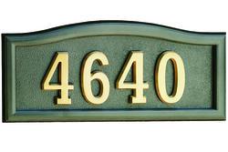SoftCurve Address Plaque-BRO