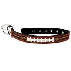 GameWear Oklahoma State Cowboys Classic Leather Football Collar