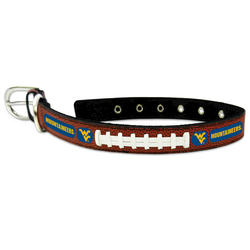 GameWear West Virginia Mountaineers Classic Leather Football Collar
