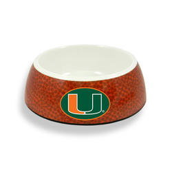 GameWear Miami Hurricanes Classic Football Pet Bowl