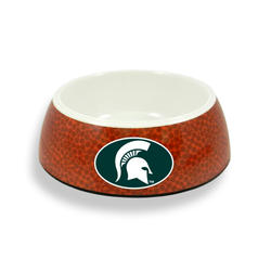 GameWear Michigan State Spartans Classic Football Pet Bowl
