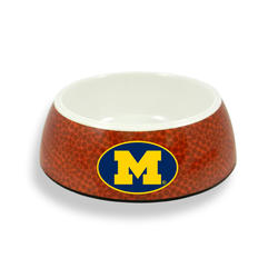 GameWear Michigan Wolverines Classic Football Pet Bowl