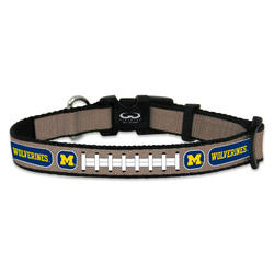 GameWear Michigan Wolverines Reflective Football Collar