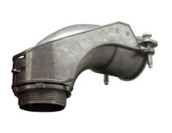 """1-1/2"""" Zinc Angle Squeeze Connector"""
