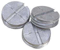 """3/4"""" Closure Plugs - Gray, 4/Bag"""