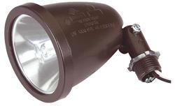 Quartz Halogen Lamp Holder - Bronze